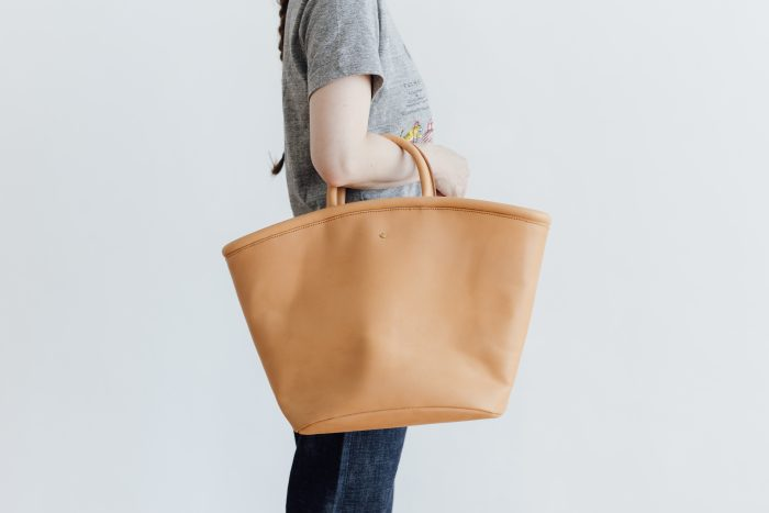 COW LEATHER MARCHE BAG 2