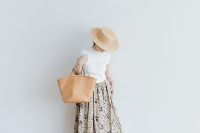COW LEATHER MARCHE BAG 4