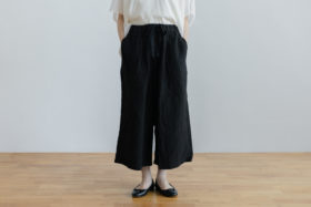 ROOMY PANTS  black 1