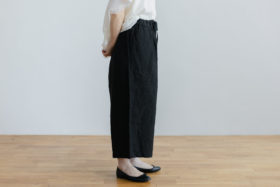 ROOMY PANTS  black 2