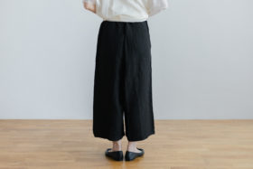ROOMY PANTS  black 3