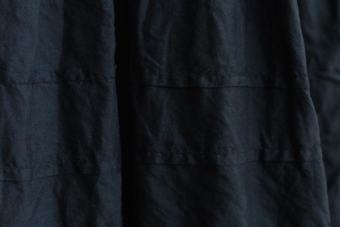 予約 FRENCH SLEEVE ONE-PIECE black 6