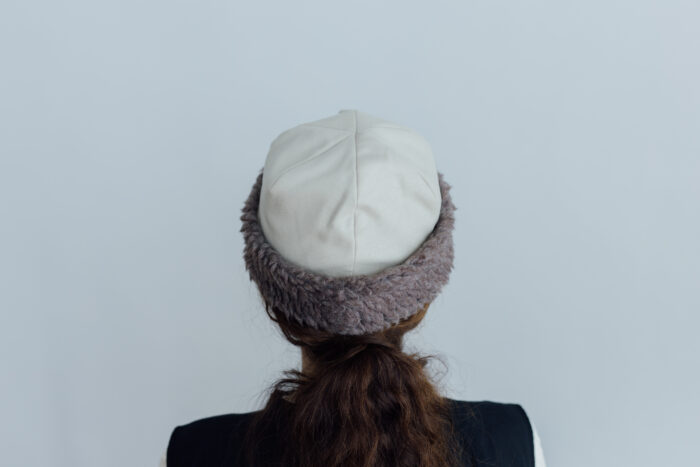 HOOD CAP light beige 3