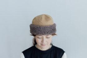 HOOD CAP camel 2