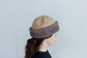 HOOD CAP camel 1