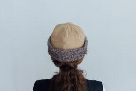 HOOD CAP camel 3