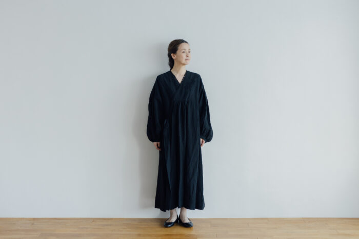 Embroidery DRESS  black 1