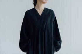 Embroidery DRESS  black 4