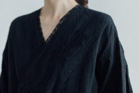 Embroidery DRESS  black 5