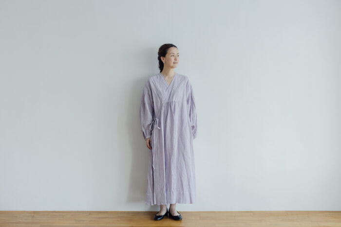 Embroidery DRESS  lavender 1