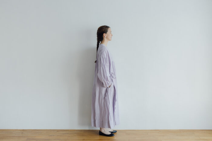 Embroidery DRESS  lavender 2