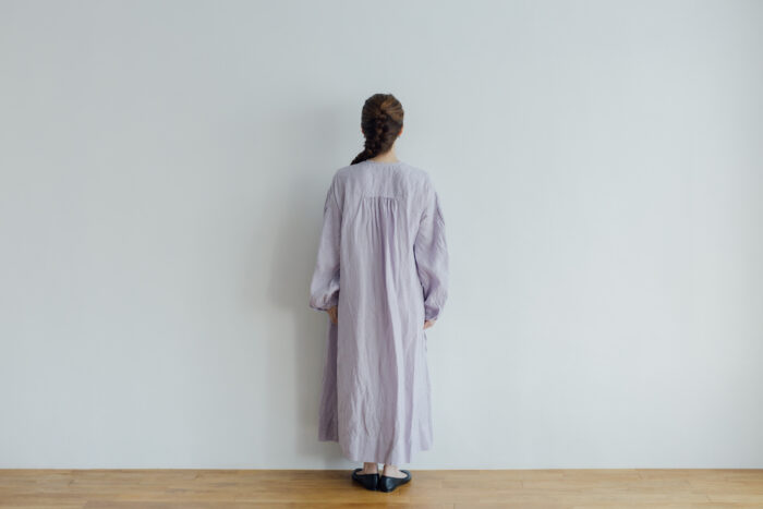 Embroidery DRESS  lavender 3