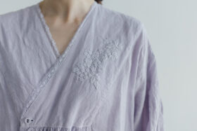 Embroidery DRESS  lavender 5