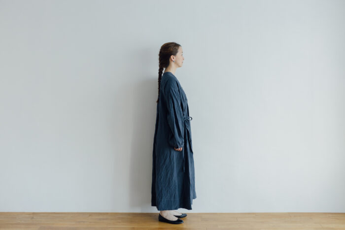 Embroidery DRESS  navy 2