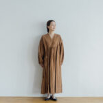 Embroidery DRESS  brown