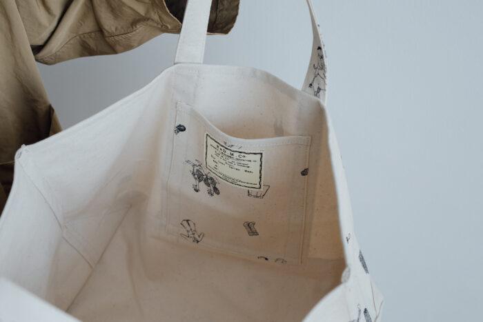 B.S PRINT TOTE BAG  L 4