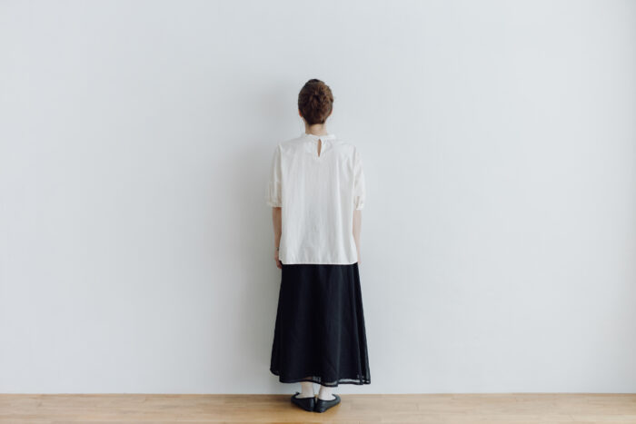 PUFFED SLEEVE PULLOVER  ivory 3