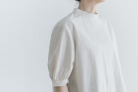 PUFFED SLEEVE PULLOVER  ivory 4