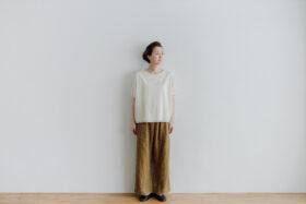 LINEN ATELIER PANTS  khaki beige 1