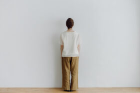 LINEN ATELIER PANTS  khaki beige 3