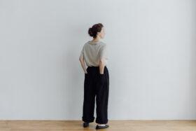 LINEN ATELIER PANTS  black 6