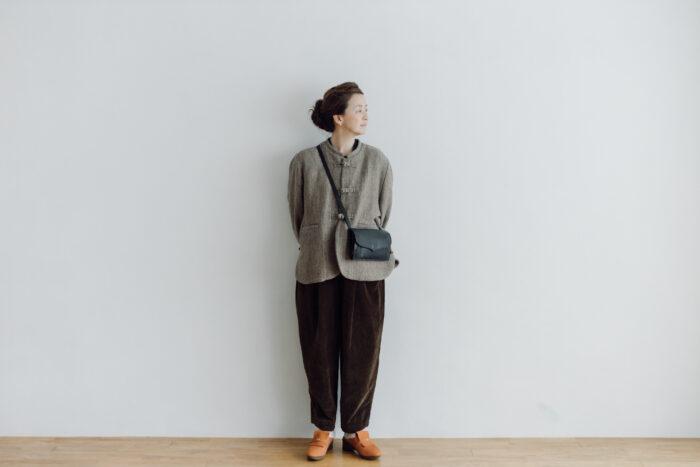 予約 VELVETEEN KUNG FU PANTS  brown 4