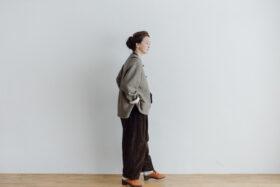 予約 VELVETEEN KUNG FU PANTS  brown 5