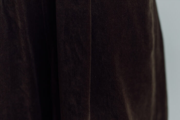予約 VELVETEEN KUNG FU PANTS  brown 3