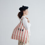 LETTERD BAG white×red