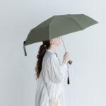 Folding Umbrella cat×khaki