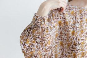 予約 R037 FLORAL DRESS white 5