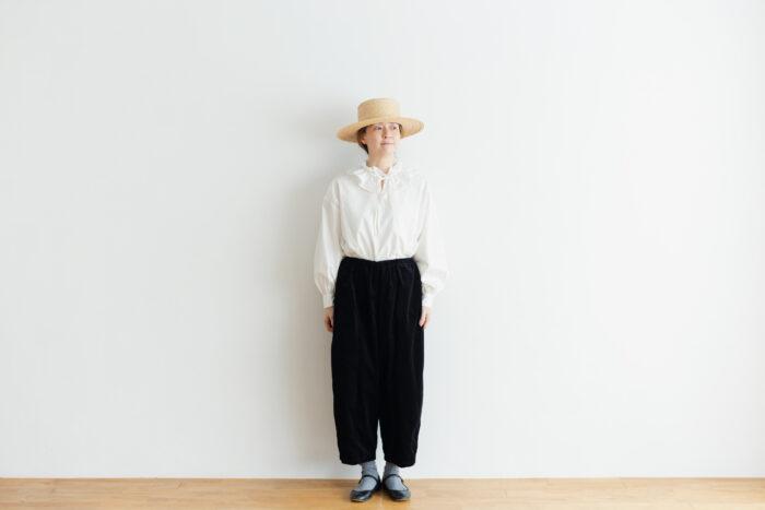 予約 G 668 CORDUROY SHORT CHARLIE PANTS black 5