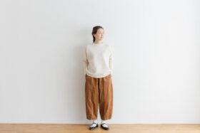 予約 G 668 CORDUROY SHORT CHARLIE PANTS mocha beige 3