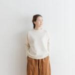 予約 R 053 merino wool KNIT off white