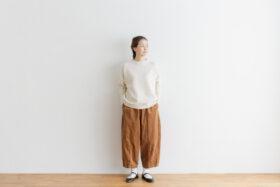 予約 R 053 merino wool KNIT off white 1