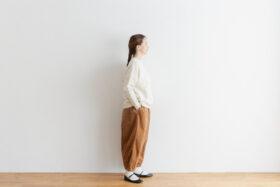 予約 R 053 merino wool KNIT off white 4