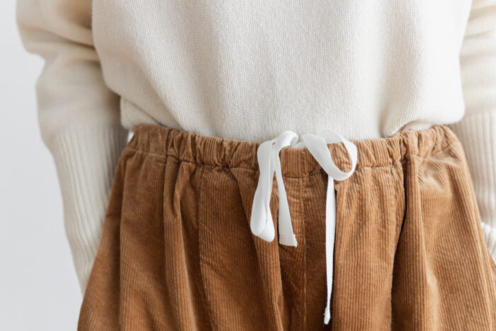 予約 G 668 CORDUROY SHORT CHARLIE PANTS mocha beige 6