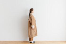 予約 R 043 SHAWL COLOR COAT beige 2