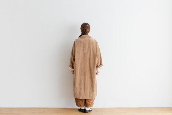 予約 R 043 SHAWL COLOR COAT beige 3