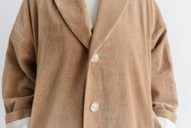 予約 R 043 SHAWL COLOR COAT beige 4