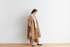 予約 R 043 SHAWL COLOR COAT beige 5