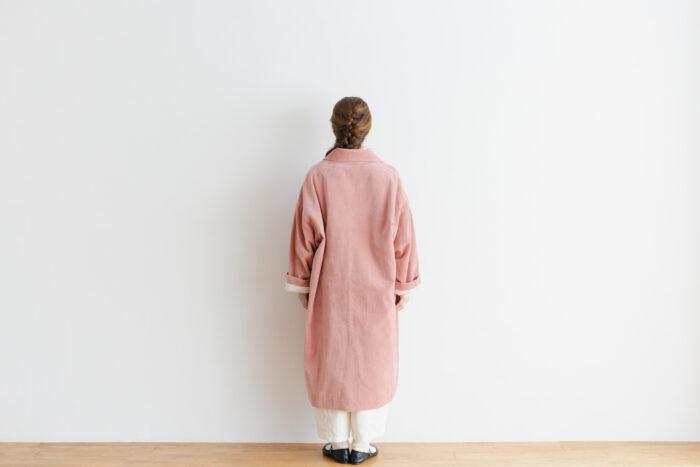 予約 R 043 SHAWL COLOR COAT pink 3