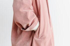 予約 R 043 SHAWL COLOR COAT pink 4