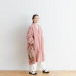 予約 R 043 SHAWL COLOR COAT pink