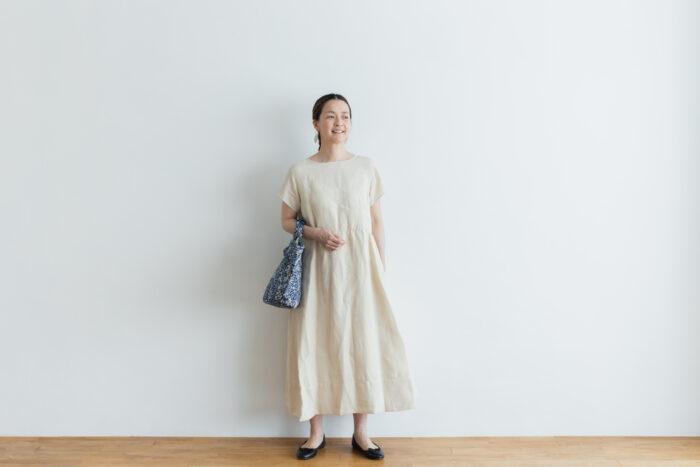 DENSELY LINEN PULL OVER DRESS 6