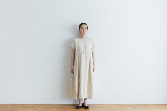 DENSELY LINEN PULL OVER DRESS 1