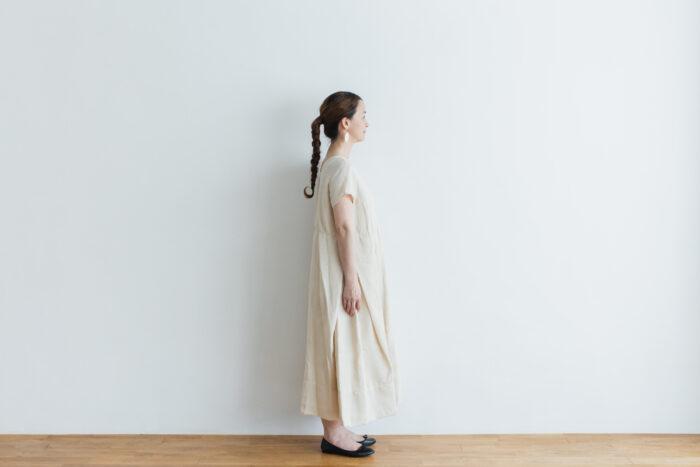 DENSELY LINEN PULL OVER DRESS 2