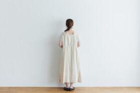 DENSELY LINEN PULL OVER DRESS 3