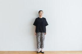 J/W/B SARROUEL TAPERED GOM PANTS black 5