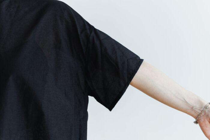 C/S PULLOVER SHIRT black 5